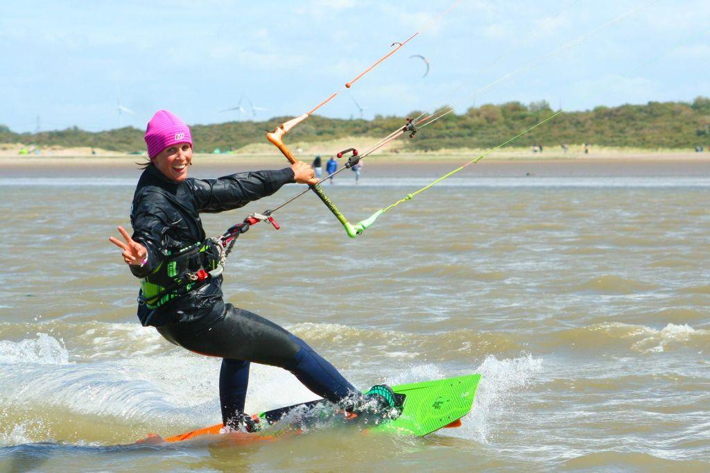 Kitesurfen lernen in Holland!