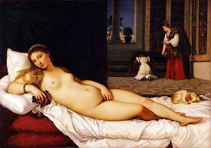 Venus of Urbino (1538) - Titian