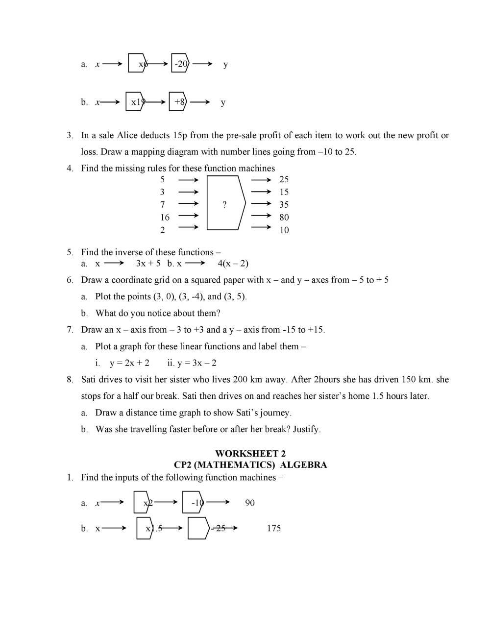 medium resolution of Mathematics Class 8 CIE (Cambridge International Education) - Notes