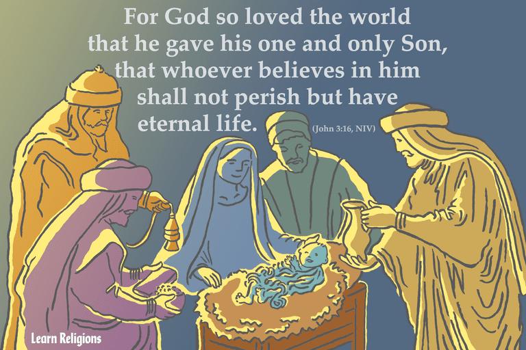 christmas bible verses to