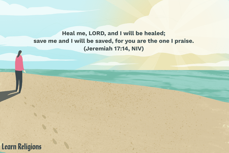 prayers for healing with