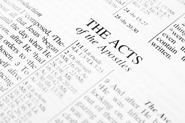 Understanding the Book of Acts in the Bible