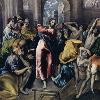 Jesus Cleanses the Temple (Mark 11:15-19)