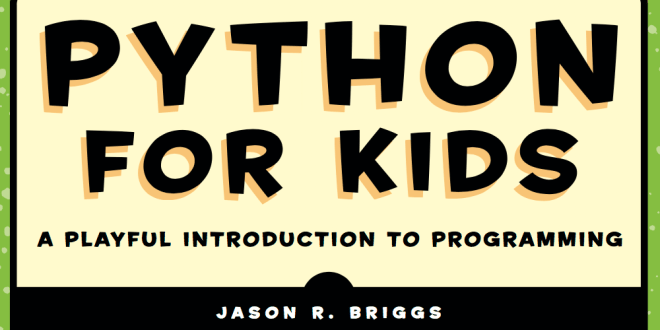 Partial cover image of the book Python for Kids