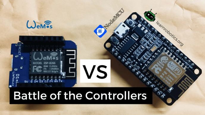 Which controller should I use Wemos D1 Mini or NodeMCU
