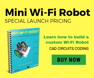 Mini WiFi Robot eBook Learn Robotics
