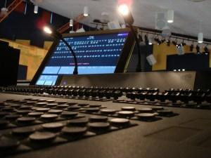 DMX lighting desk