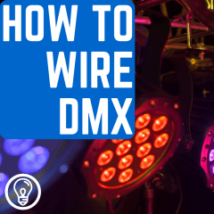 How to Wire DMX for Stage Lighting – Learn Stage Lighting .com Wiring Diagram Cat Dmx on