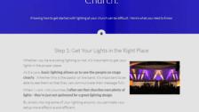 Band Lighting Video