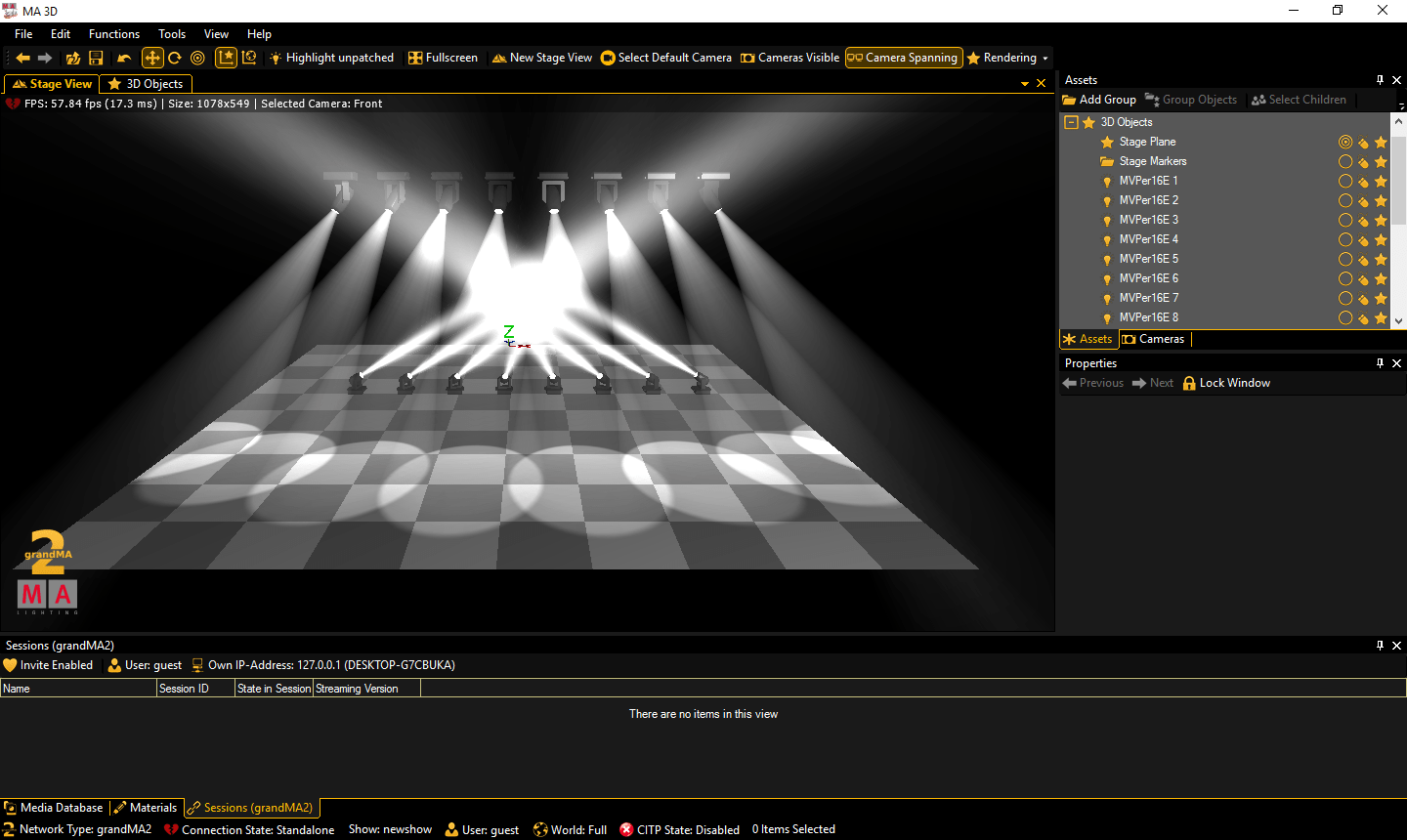So you want a lighting visualizeru u learn stage lighting