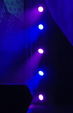 Vertical Moving Lights