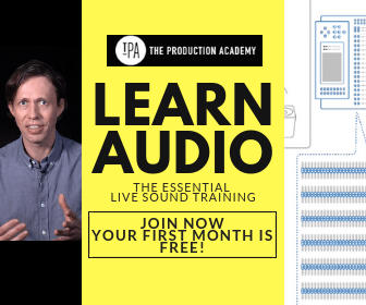 FREE Live Sound Training