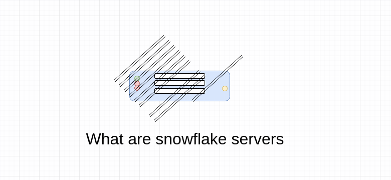 What are snowflake servers.