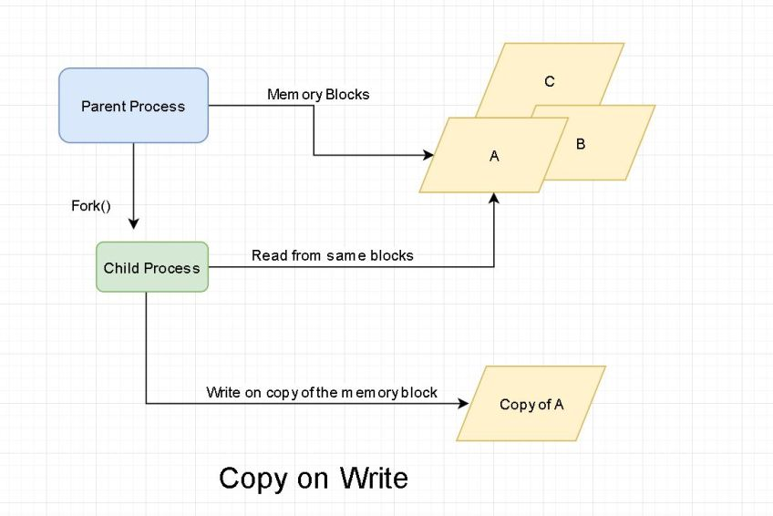 What is Copy on Write and where is it used?