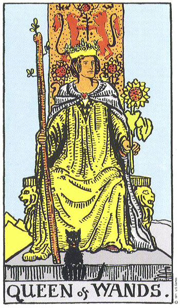 Image result for queen of wands