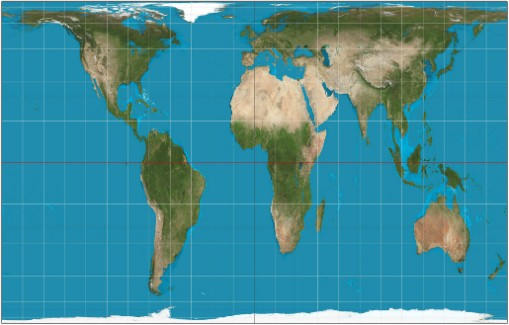 Peters Projection