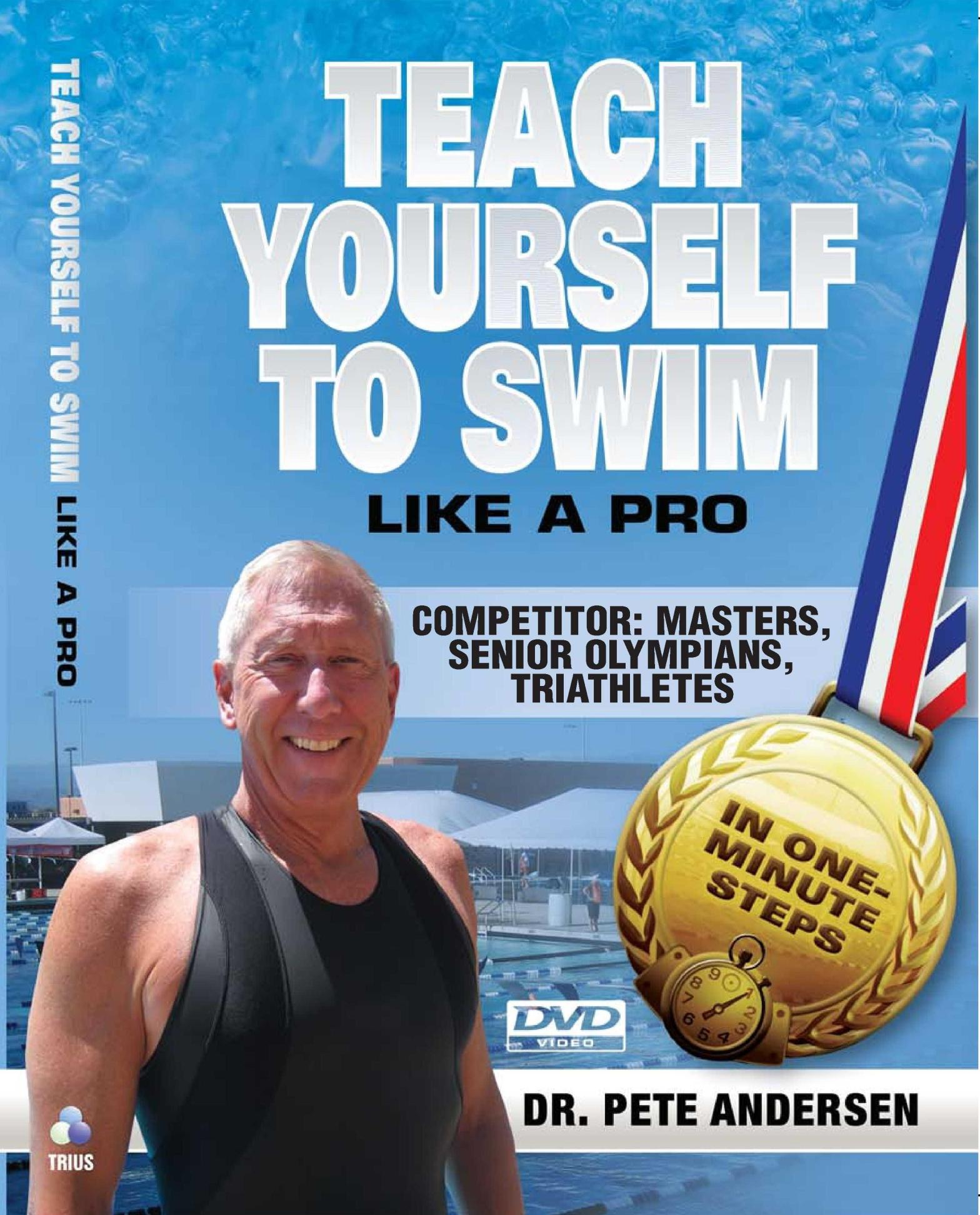 2 DVD series Teach Yourself To Swim – Competitor series