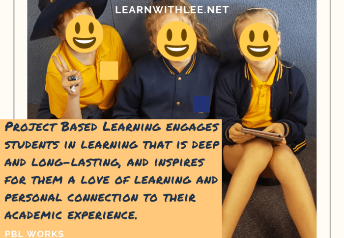 Why Project-Based Learning should be used in every class
