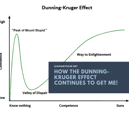 How the Dunning-Kruger Effect continues to get me!