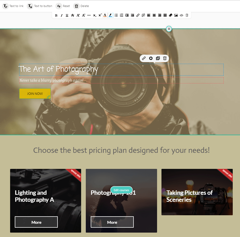 Elearning Landing Page Examples