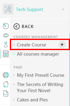 Create a New Course with LearnWorlds