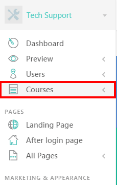 Create a Course with LearnWorlds