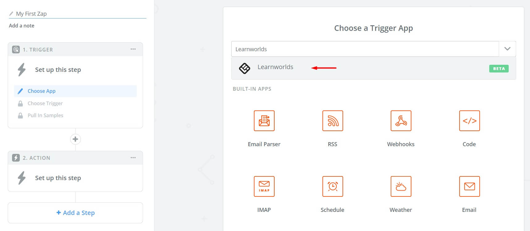 LearnWorlds now connects with Zapier