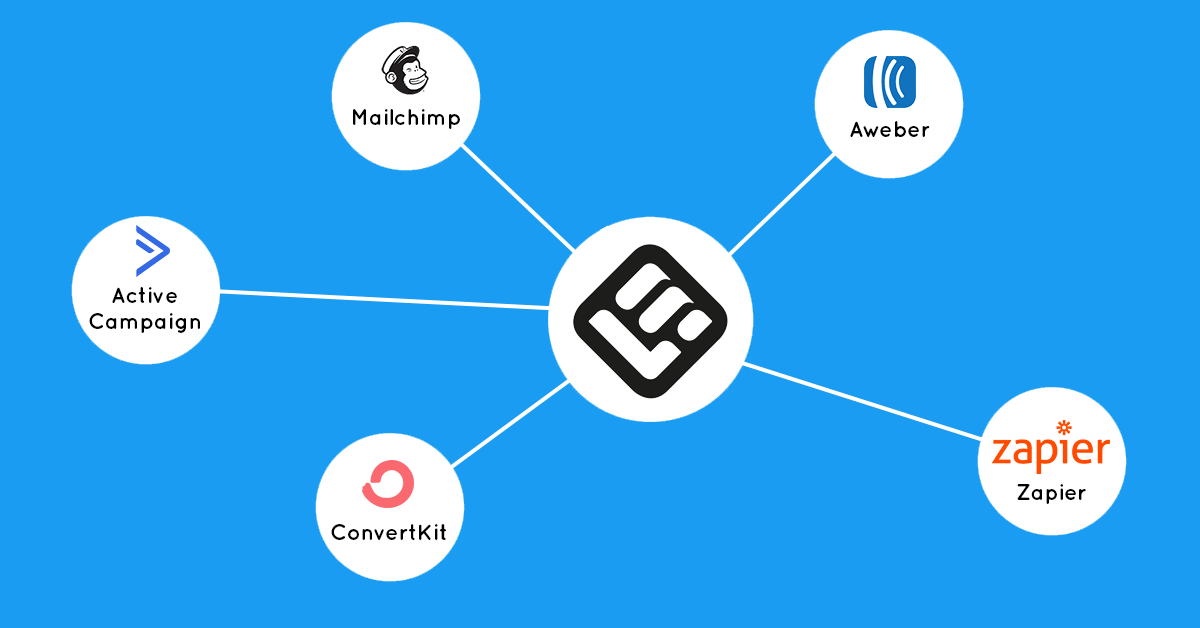 email integrations on LearnWorlds