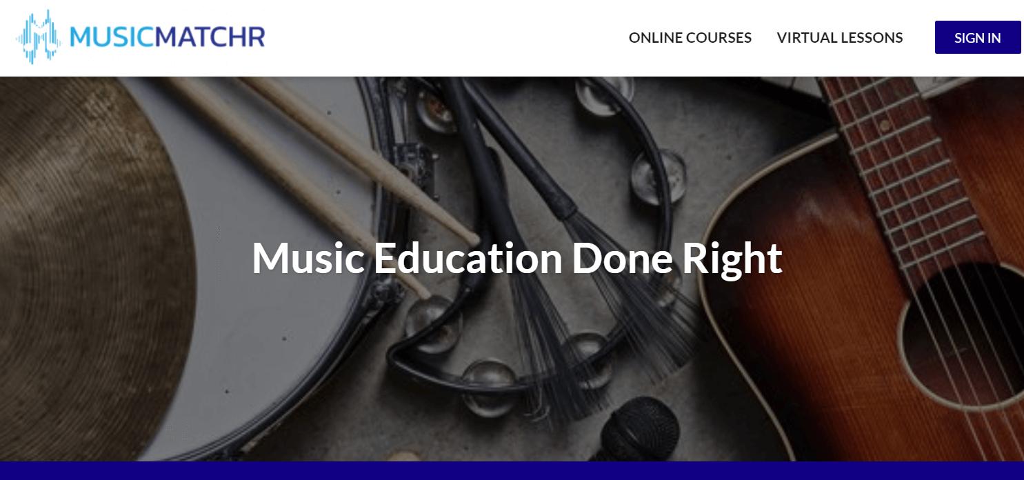 MusicMatchR home page