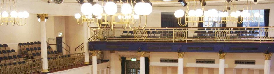 The Grand Hall  Venue Information  Leas Cliff Hall