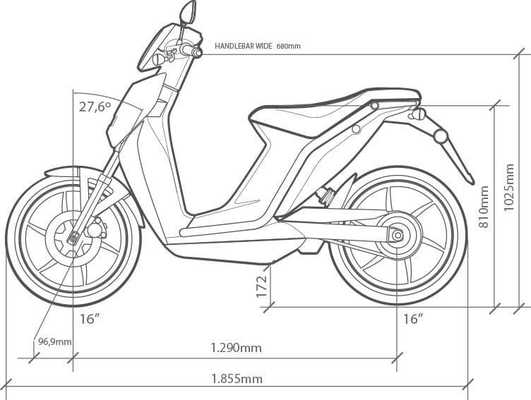 Torrot Muvi Zwart scooters leasen? Torrot Muvi Zwart