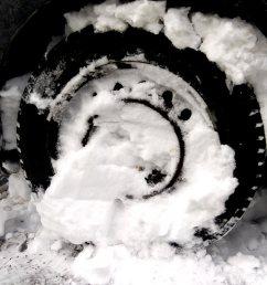honda civic stuck in snow [ 1700 x 943 Pixel ]