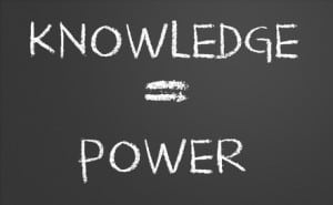 Knowledge=Power