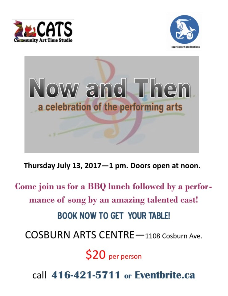 Cosburn Arts Centre – Upcoming Events