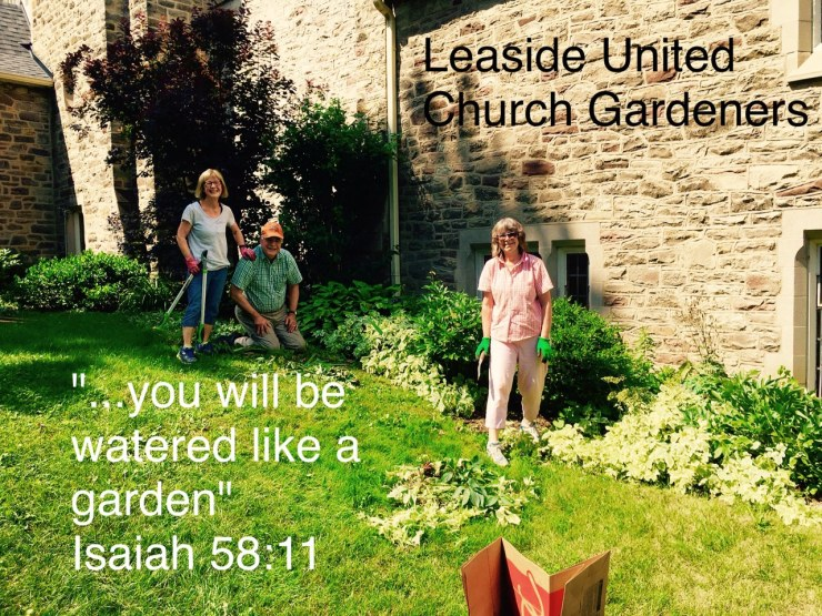 Leaside United Church Gardeners
