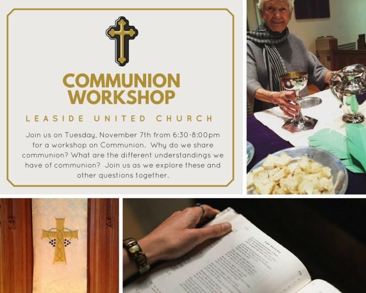 Communion Workshop