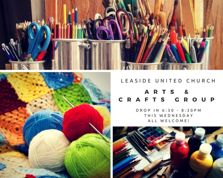 Arts & Crafts Drop In This Week!