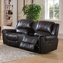 High Back Sofa And Loveseat Removal Cost Amax Charlotte Top Grain Leather Reclining With ...