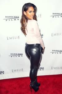Carissa Rosario attends the premiere of Dark Sky Films ...
