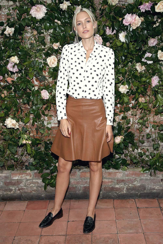Carlotta Kohl attends Rebecca Taylor x Shopbop Denim launch dinner  Leather Celebrities