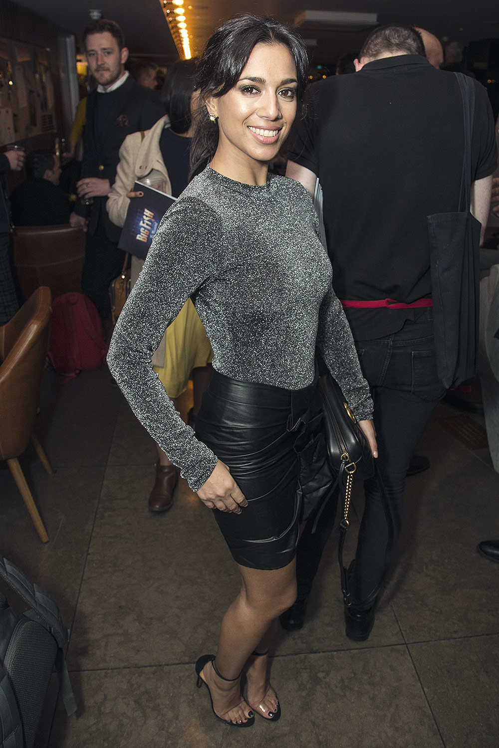 Fiona Wade Attends Big Fish Party Leather Celebrities