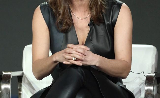 Missy Peregrym Attends Cbs Fbi Tv Show Panel Leather