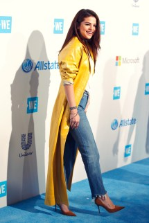 Selena Gomez Leather
