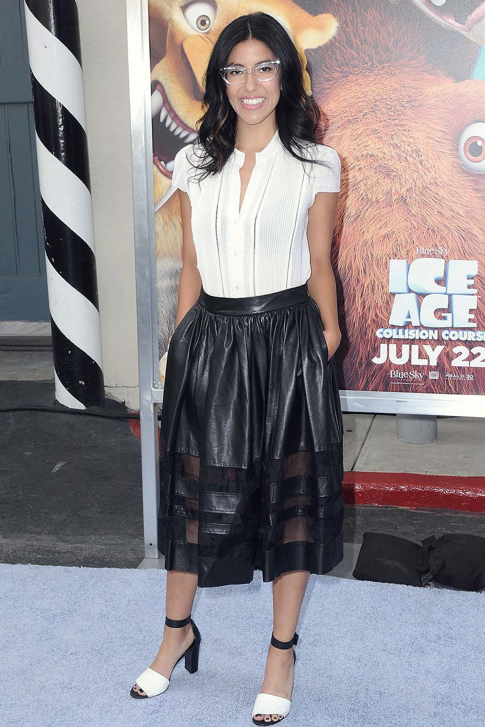 Stephanie Beatriz attends Ice Age Collision Course screening  Leather Celebrities