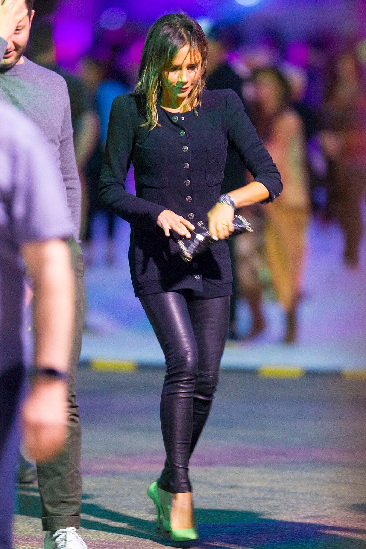 Victoria Beckham attends British Summer Time - Leather Celebrities