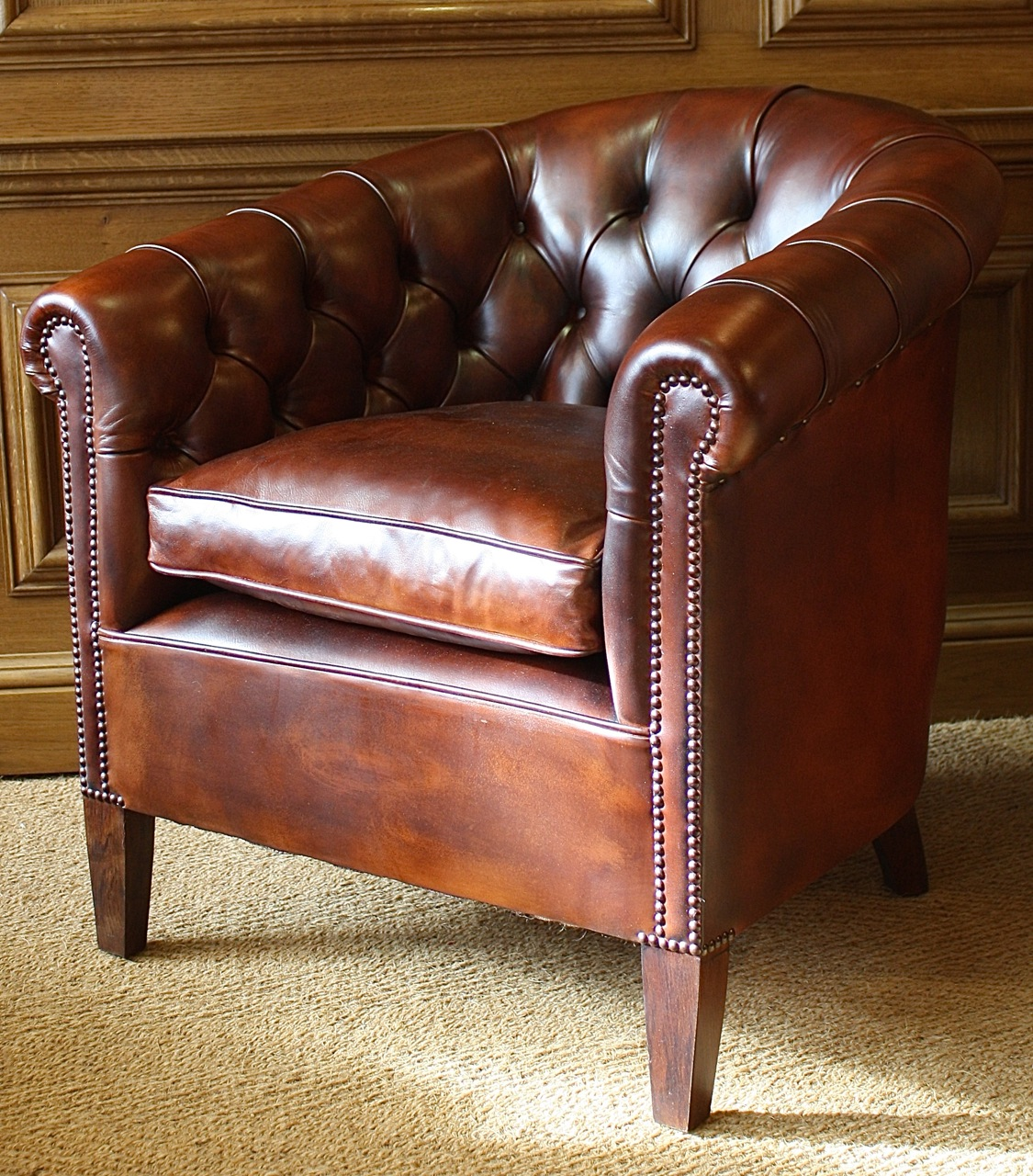 leather chairs of bath london bar height office buttoned back amsterdam chair