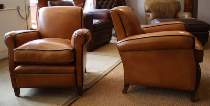 desk chair leather banquet bar covers chairs of bath - french club | antique and ...
