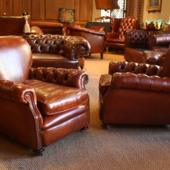 Buttoned Leather Chair Lounge Vintage Chairs Of Bath Tufted Club