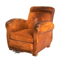 Leather Chairs of Bath Leather French Club Chair Chelsea ...