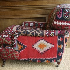 Leather Chairs Of Bath Overstuffed For The Living Room Semi Antique Kilim Lansdown Chair